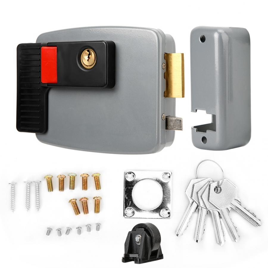 DC12V Electric Control Magnetic Door Lock for Home Video Intercom Door Bell Access Left access control in Locks from Home Improvement