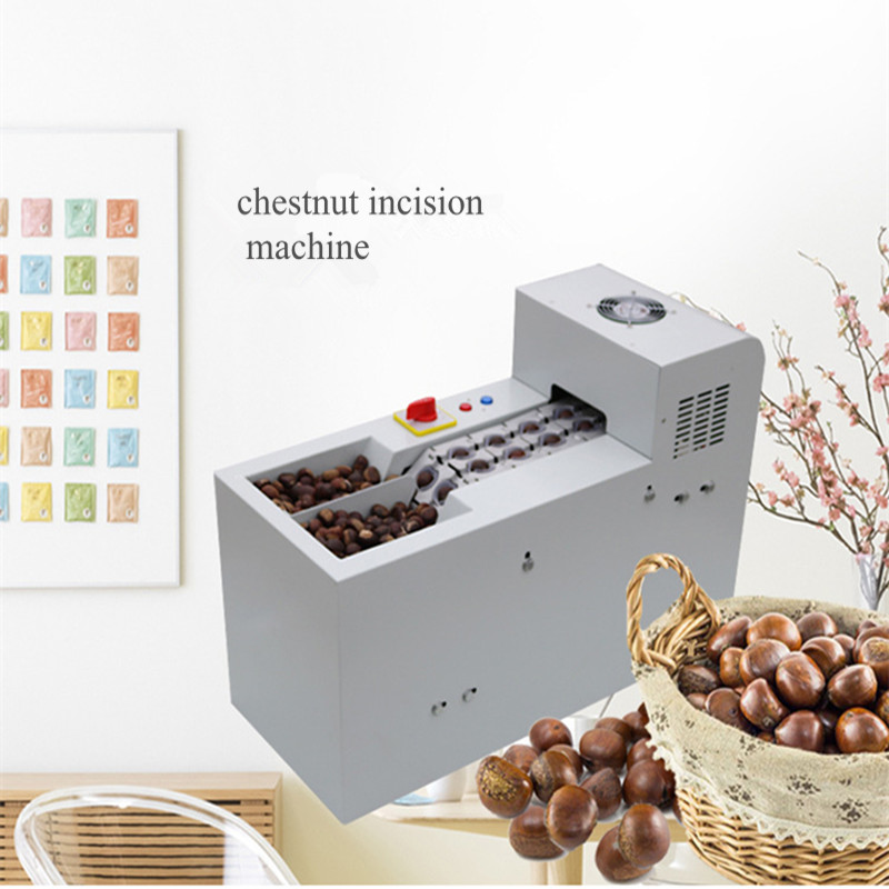 Chestnut opening machine chestnut cutting machine   ZF шатура леон joy chestnut