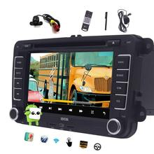 """Double Din Android 6.0 Car DVD Player Quad Core 7"""" Car Stereo GPS Navigation In Dash Bluetooth WiFi Headunit+CANBUS/Rear Camera"""