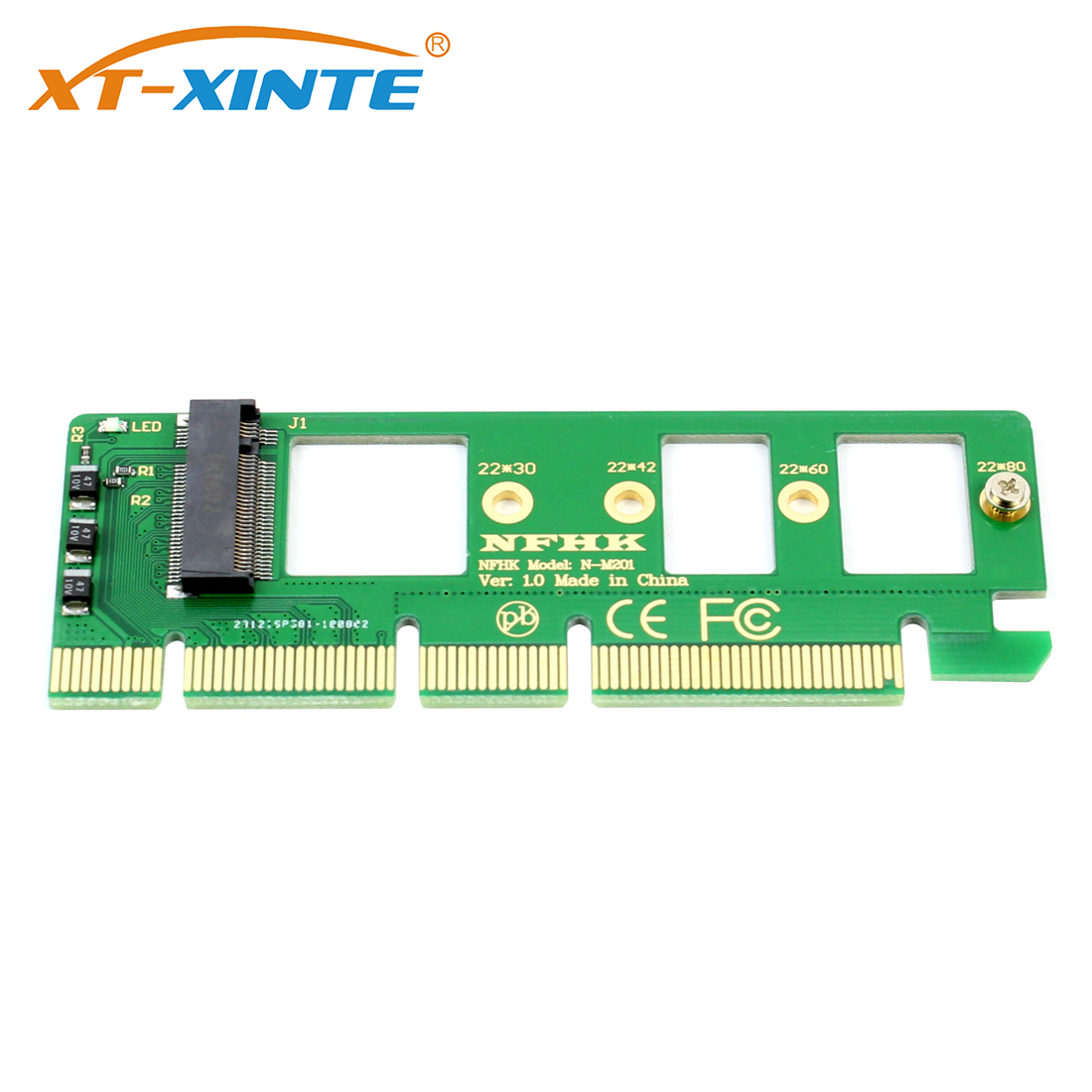 <font><b>PCIE</b></font> to <font><b>M2</b></font> Adapter PCI-E PCI Express 3.0 <font><b>X4</b></font> X8 X16 to NGFF M Key M.2 NVME AHCI SSD Riser Card Adapter for XP941 SM951 PM951 A110 image