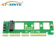 Pcie para m2 adaptador pci e pci express 3.0 x4 x8 x16 para m chave m.2 ahci ssd riser adaptador de cartão para xp941 sm951 pm951 a110
