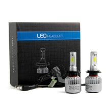 Best Selling Universal 110W H7 COB LED 16000LM Auto Car Headlights Kit Driving Bulbs Lamps 6000K
