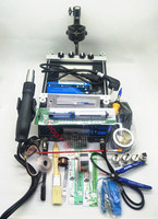650W YIHUA 853AAA Hot Air Gun Rework Station Imported Soldering Iron With Preheat BGA Station Cellphone
