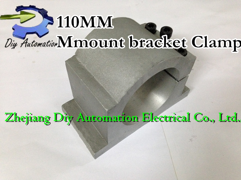 Diameter 110mm spindle motor fixture / mount bracket Clamp for cnc router engraving machine