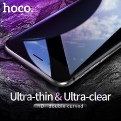 HOCO dla Apple iPhone 7 8 PLUS 3D szkło hartowane folia ochronna hd ochronna pełna osłona ochrona ekranu dotykowego w Etui do ekranu telefonu od Telefony komórkowe i telekomunikacja na