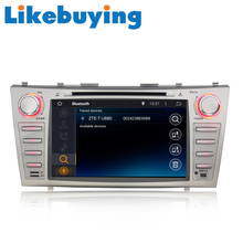"""Likebuying Android 4.4.4 Quad Core 1024*600 2 Din Car  Pure Stereo DVD GPS Radio for Toyota 8""""  Camry 2007 2008 2009 2010 2011"""