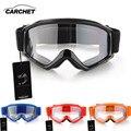 Carchet capacete da bicicleta da motocicleta óculos de motocross óculos goggles anti vento proteção dos olhos óculos goggle blue black red orange
