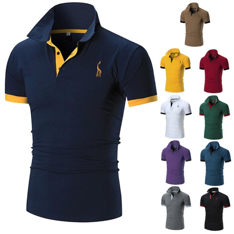 Polo Shirt Top Short Sleeves Work Wear Unisex Heavy Duty Plain Style Casual S-3X