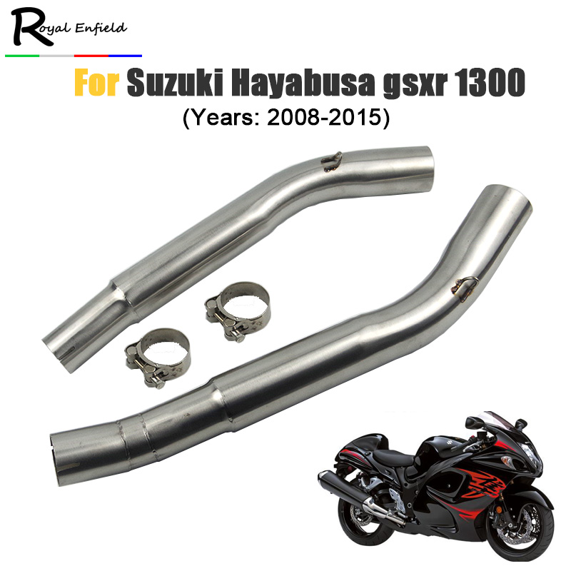 GSX1300R hayabusa Slip on Motorcycle Exhaust muffler steel