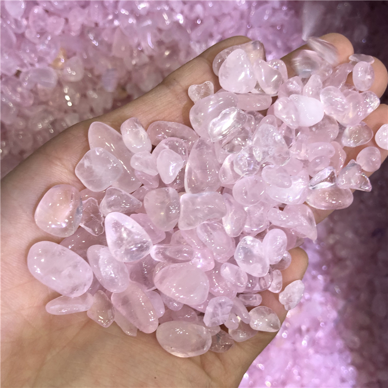 1 kg rose quartz cristal gravier pierre de poche pierre gravier chine rugueux spécimen en gros pas cher livraison directe