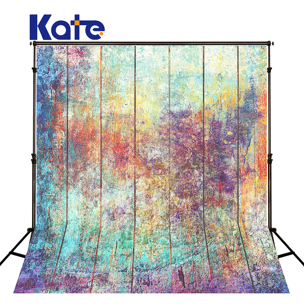 KATE Photo Background Old Wood Wall Backdrops Abstract Texture Backdrops Vintage Wedding Photography Background for Photo Studio 5x7ft vinyl photography background white brick wall old wood texture photographic backdrops for studio photo props 2 1m x 1 5m