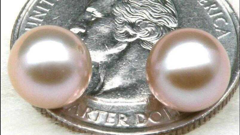gorgeous AAA++11-12mm south sea round gold pink pearl necklace 18inch цена