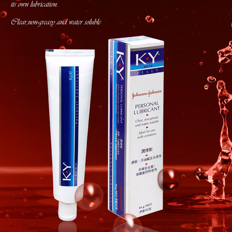 (2pcs) Sex products KY silk touch anal lubricant for oral 50g water based vaginal lubrication massage oil vanessa lube gel