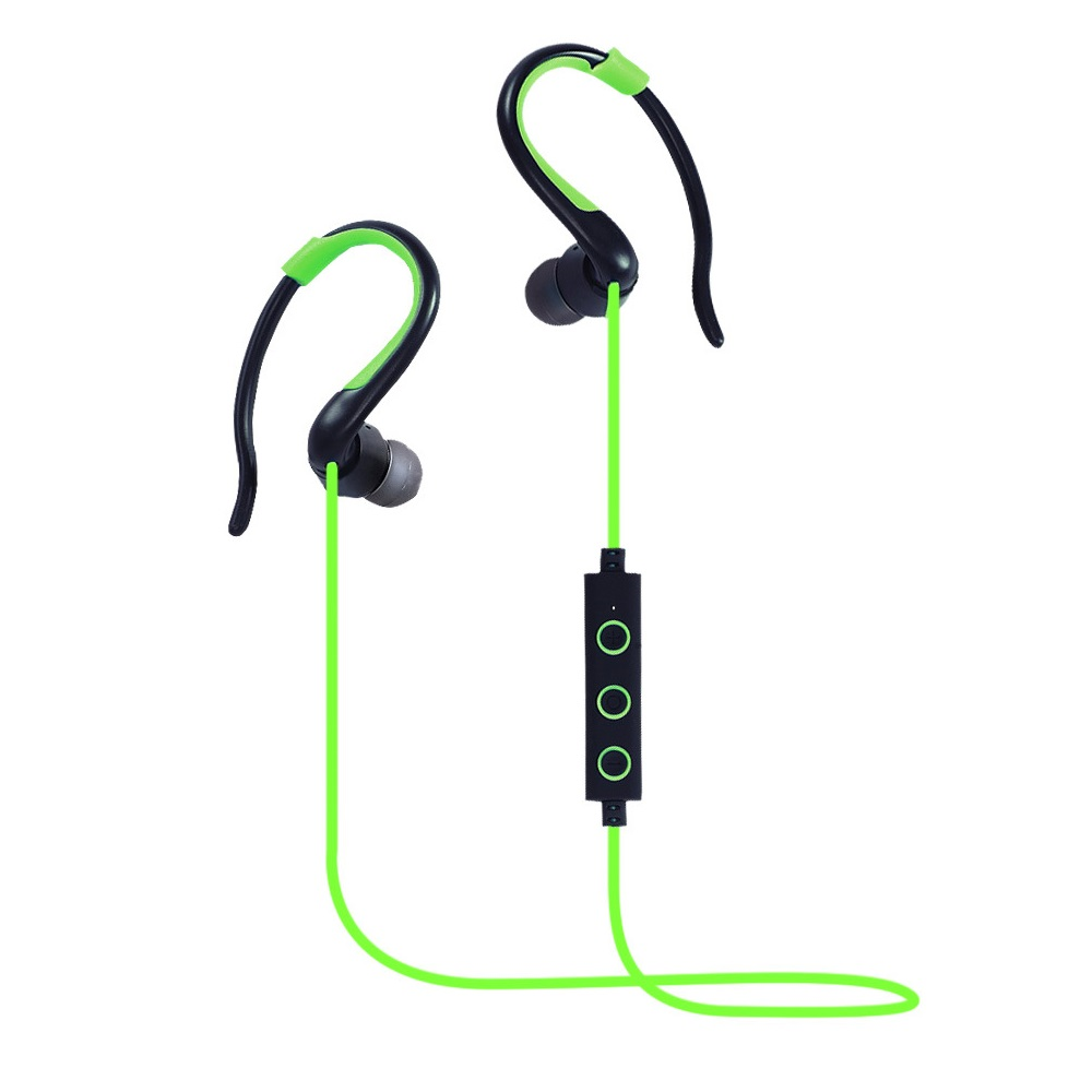 GDLYL Bluetooth 4.1 Wireless Headset Stereo Music Bluetooth Earphone Sweatproof Sport Headphone for Running Fitness Exercise hbs 760 bluetooth 4 0 headset headphone wireless stereo hifi handsfree neckband sweatproof sport earphone earbuds for call music