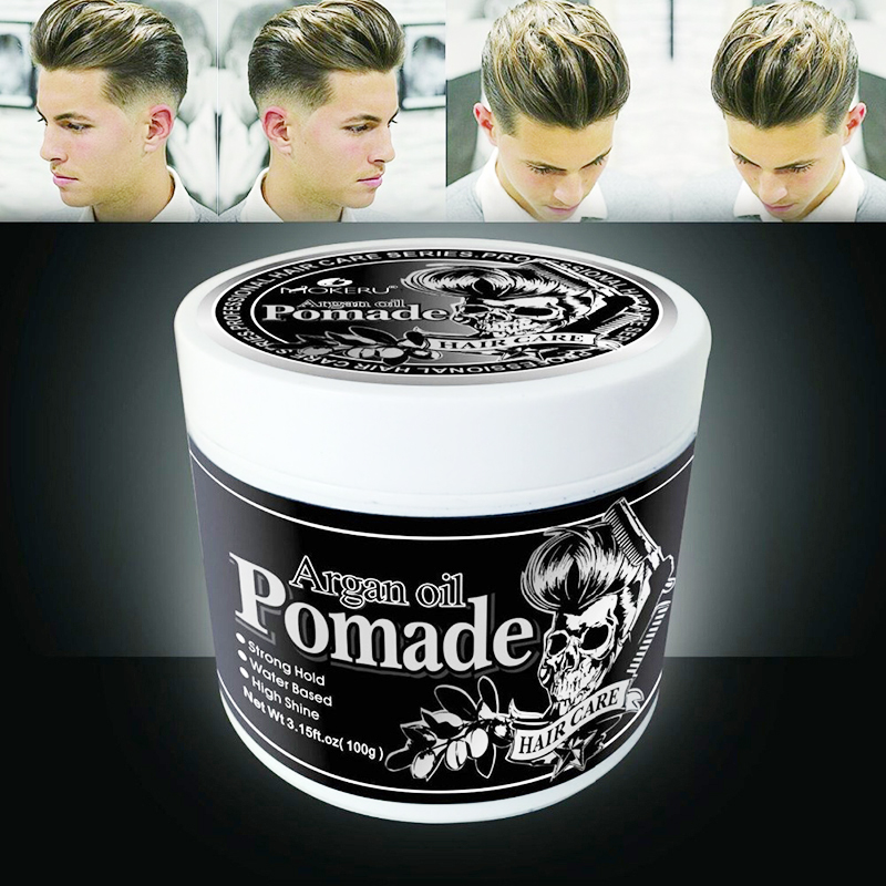 Hair Wax Gel Men Strong Hold Hair Styling Beard Clay Pomade Natural Argan Care Ebay