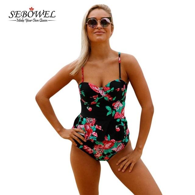 Maillot de Bain Femme Maillot de Bain Bandeau Imprimé Floral Plus Taille Bikini Style2 X-Large Les Dates De Sortie De Sortie Vraiment Pas Cher La Vente En Ligne V07fMdHaN