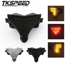 Free Shipping Motorcycle LED Tail Light Tail Light Tail font b Lamp b font Turn Signal