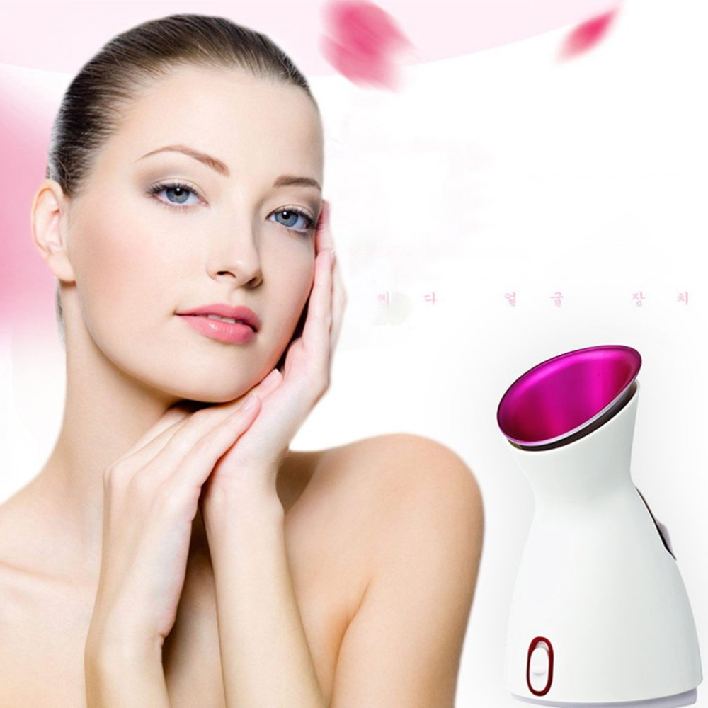 280W Mist Sprayer Facial Steamer Nano Lonic Humidifier Moisturizing Skin Pores Cleansing Anti-acne Pimple SPA Steamer