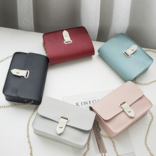 New Chains Women Messenger Bags Small Solid Female Crossboby Bag High Quality Lock Brand Handbags Mini Flap