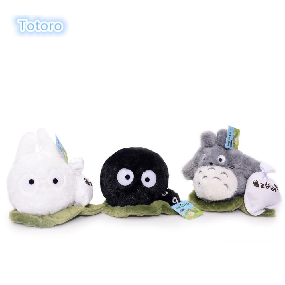 My Neighbor Totoro Plush with Flower & White Dust Plush ...  |White Totoro Plush