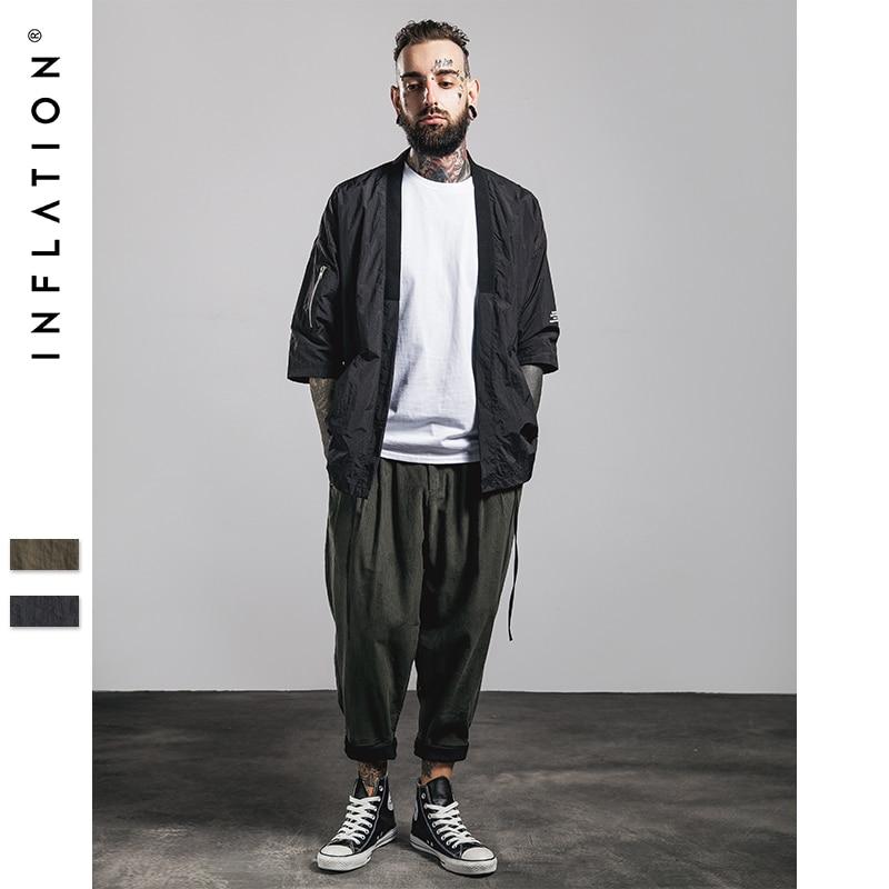 INFLATION Mens | 2016 Fashion Hip Hop OVERSIZE Men Kimono ...