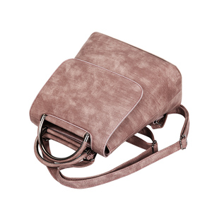 Image 4 - YBYT brand 2019 new PU leather women rucksack Multipurpose satchel female shopping shoulder bags ladies casual travel backpacks