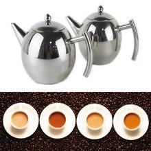 Teekanne Hochzeit 1L/1.5L Kaffee Sieb Edelstahl Infuser Filter Werkzeug Handliche Teekanne