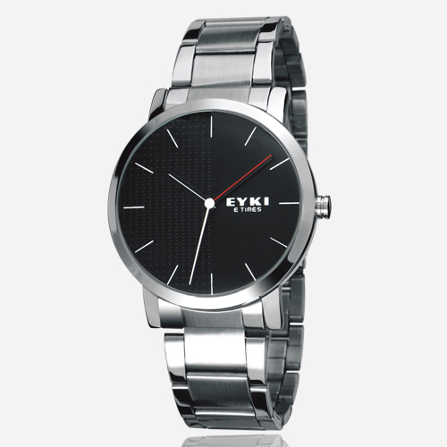 Luxury Brand Eyki Steel Strap Couple Tables Lovers Watch Fashion Formal Waterproof Quartz Watches Ladies Dress For Men