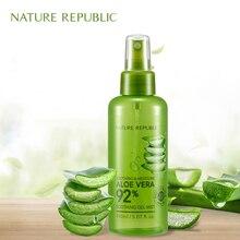 Nature Republic 150ml Face Toner Soothing Bioaqua Moisture Aloe 92% Soothing Gel Mist Aloe Moisturizing Spray Korean Cosmetics