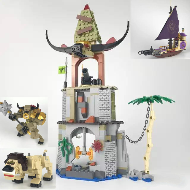Chronicles of Narnia Building Block Toys Pirate Ship Model Construction Bricks Compatible with Lepins DIY Model Figures Toys lewis c the chronicles of narnia