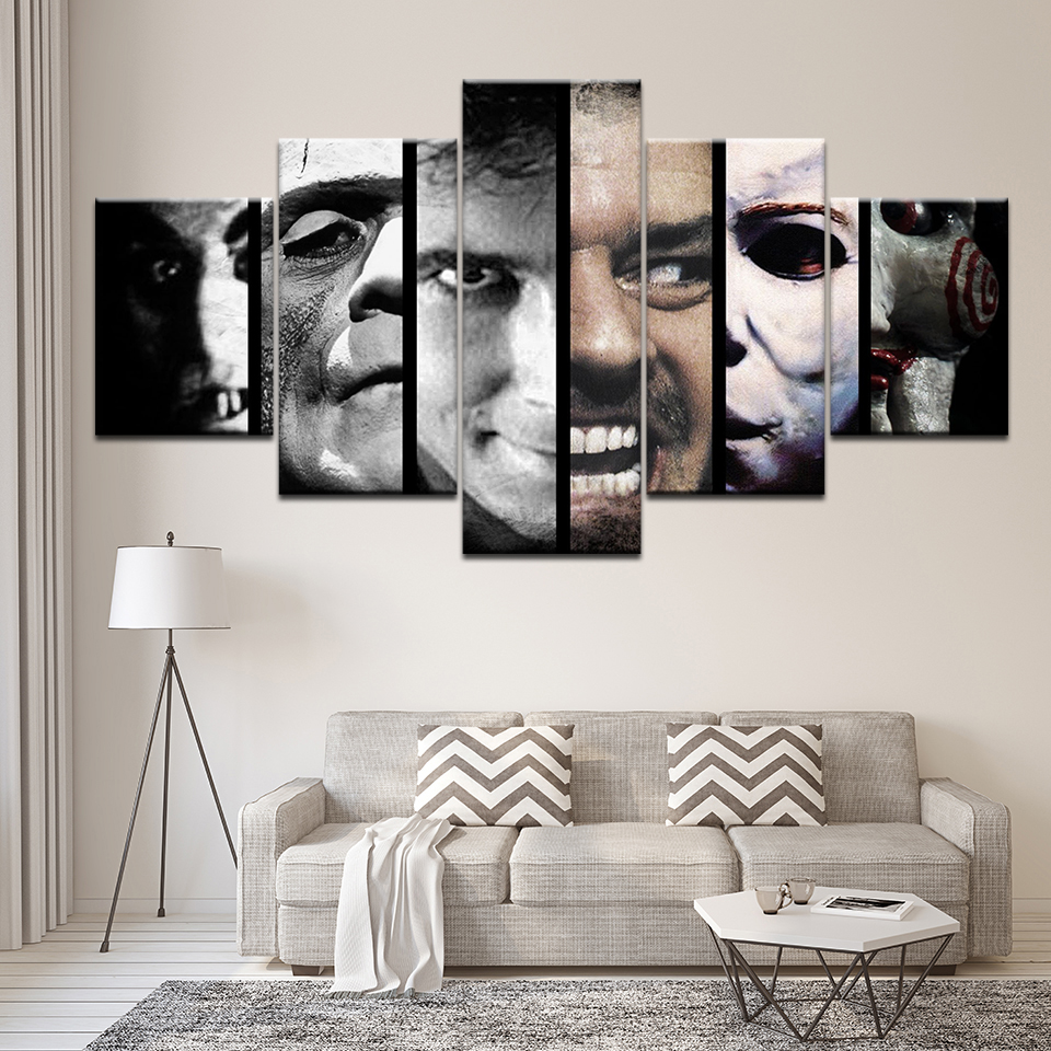 HD Wall Art Poster Painting Printed Canvas Home Decor 5