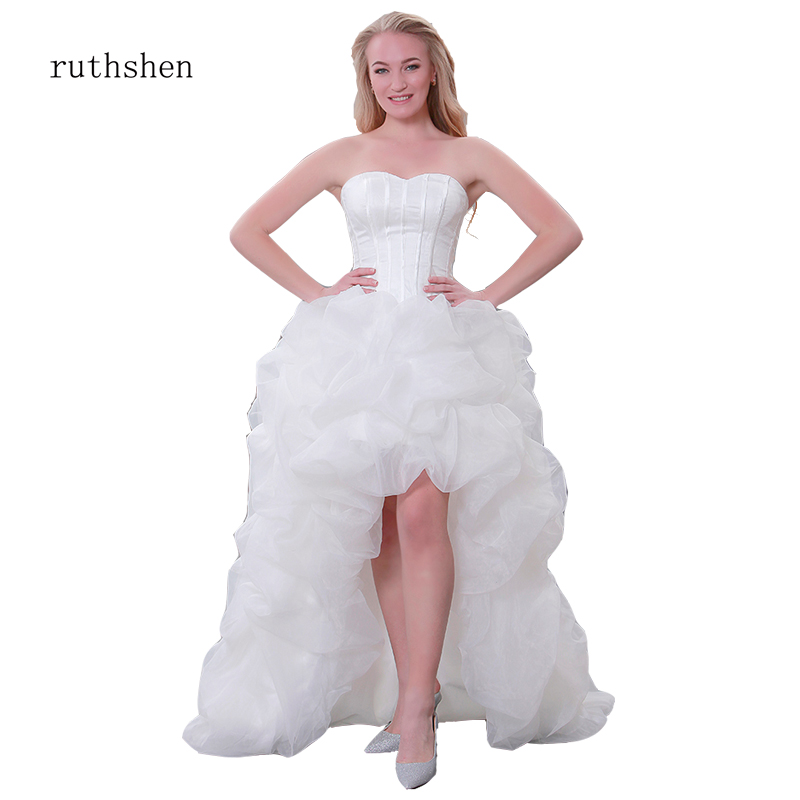 Plus Size Wedding Gown Custom Color Sheer Tull Ruffles