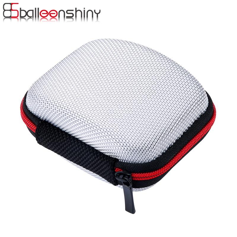 Fiber cipzár tároló táska fülhallgató EVA fejhallgató tok konténer kábel Earbuds doboz hordtáska táska szervező tartó