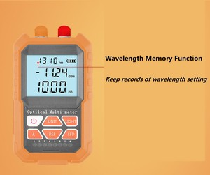 Image 3 - 3in1 Optical Power Meter Visual Fault Locator สายเคเบิลเครือข่าย Test optical fiber tester15mw VFL ไฟเบอร์ออปติก Power Meter Ftth เครื่องมือ