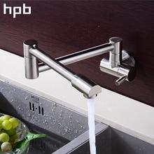 Блаватская 360 градусов вращения один кухонный кран холодной воды латунь хром матовый отделка Одной ручкой раковина из нержавейки настенные HP9105