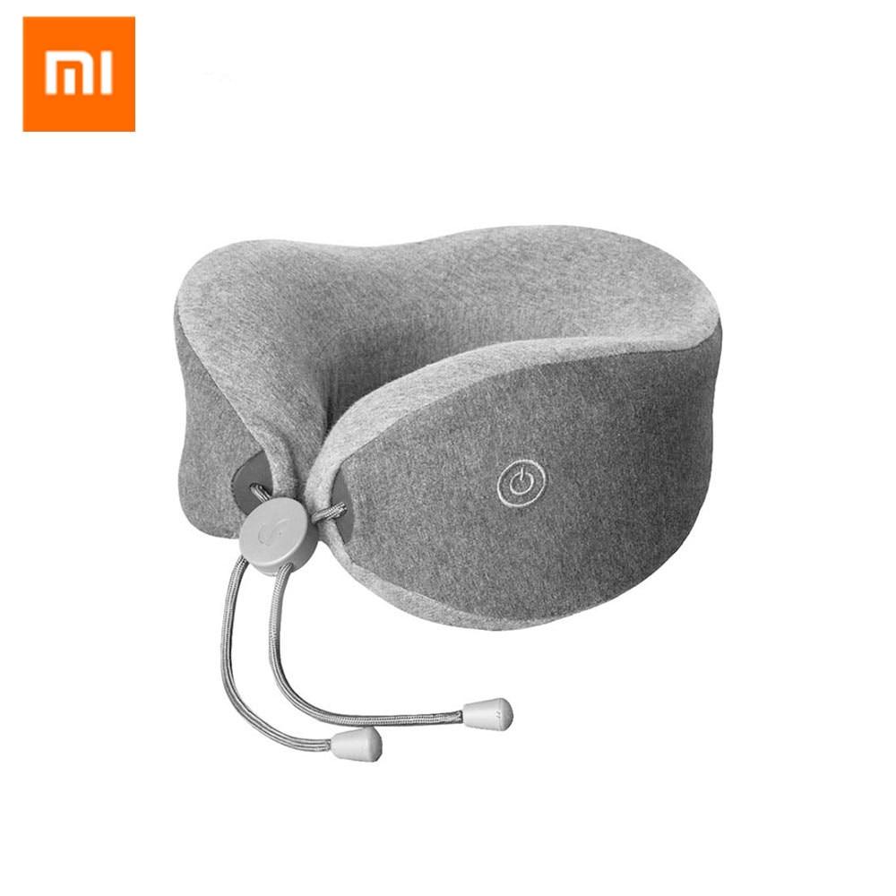 все цены на Original Xiaomi LF UShape Neck Massage Pillow Relax Muscle Massager Release Pressure Help Sleep Pillow Work for Home Car Travel онлайн