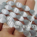 beautiful gray mexican opal jasper 8x12mm hot sale rice cat eye jade loose beads charming jewelry making 15 inch MY134