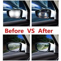 Car Rearview Mirror Protective Film Anti Fog Window Clear Rainproof Rear View Mirror Protective Film Auto Accessories 1.52x10m Front Window     -