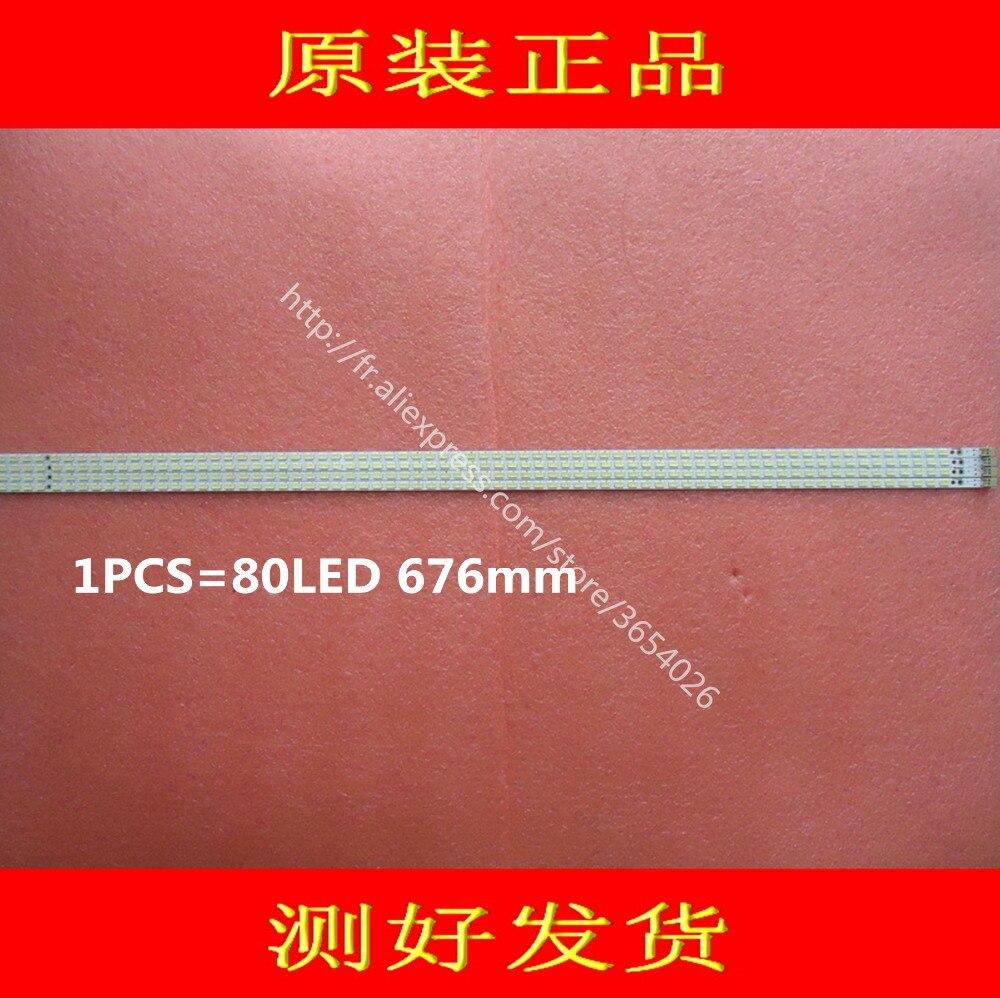 Lcd-60lx830a 60lx531a Led Strip E329419 Sled-2011ssp60-80-gd-rev0 Sled_2011ssp60_80_gd_rev0 1pcs=80led 676mm