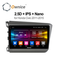 Ownice C500 9 Android 6 0 Eight Octa Core For HONDA CIVIC 2011 2012 2013 2015