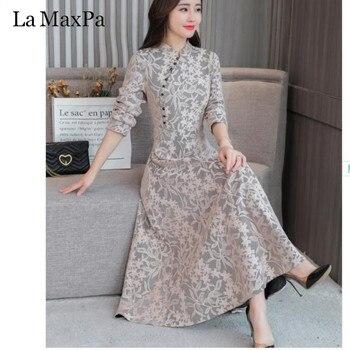 Moda otono 2019 mujer vestidos