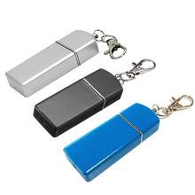 Portable Ashtray Cigarette Ashtray For Outdoor Use Ash Holder Pocket Smoking Ash Tray With Lid Key Chain For Travelling(China)