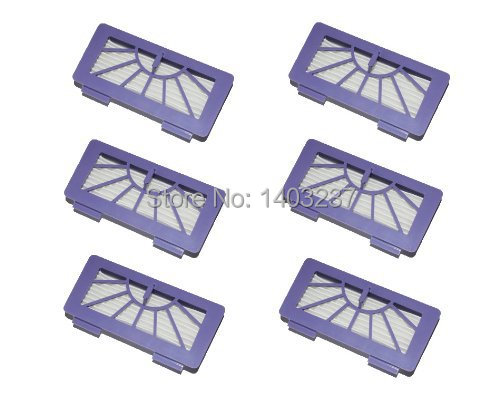 6 x Hepa Filter Replacement Vacuum Cleaner Accessory Kit for Neato xv-11 xv-12 xv-14 xv-15 xv-21
