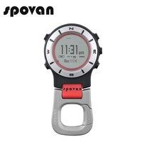 SPOVAN Sport Watch For Men Women Sports Watches Fashion Pocket Watch Waterproof LED Backlight Watch Clock