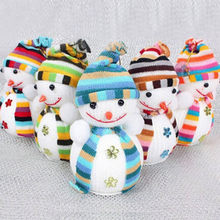 New Style Exclusive Christmas Decoration X masTree Decorations Snowman Doll  Children s Gift Tiny Toy 46d41f29af63