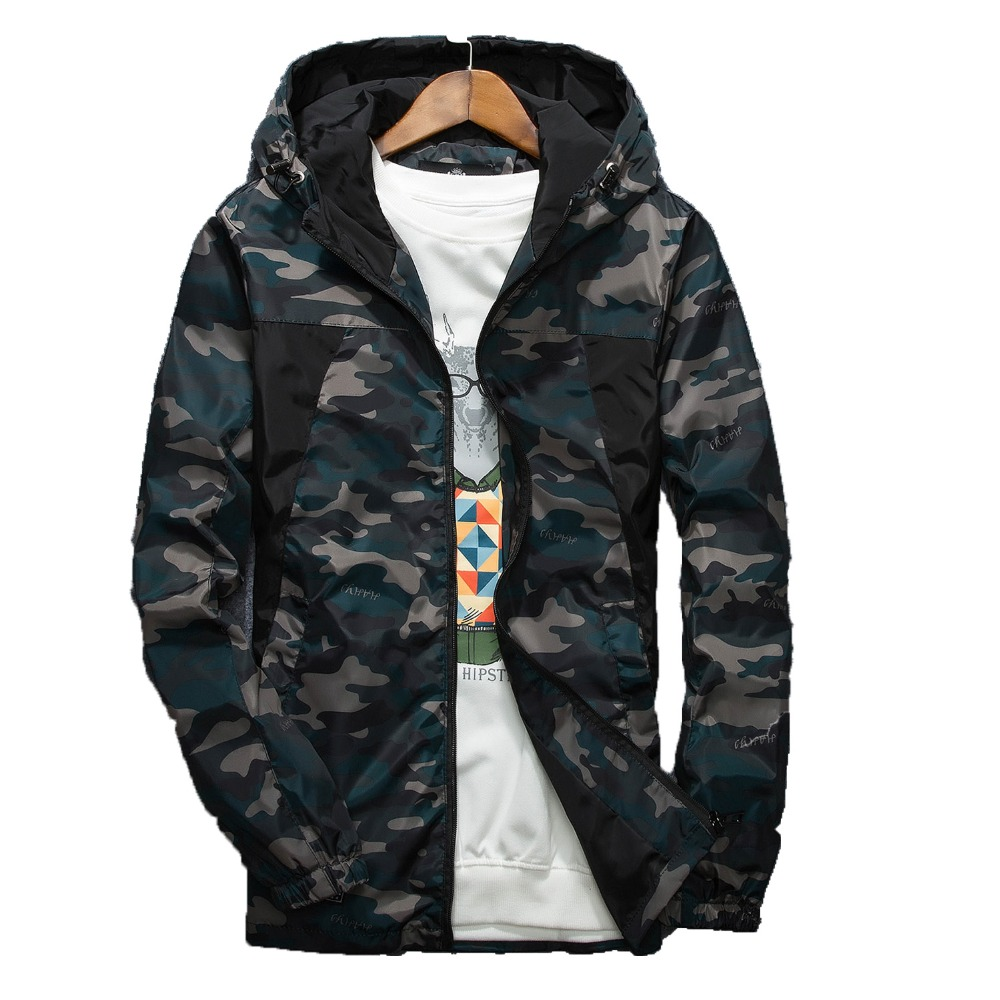 67555e1255a Buy hooded camouflage anorak parka jacket and get free shipping on  AliExpress.com