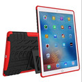 For i Pad Pro 9.7 inch  Kids Baby Safe Armor Shockproof Heavy Duty Silicone Hard Case Cover stand holder