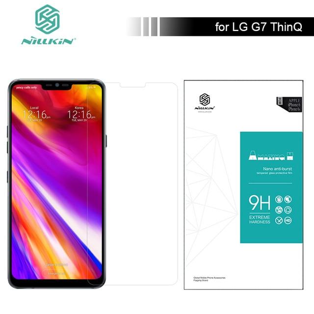 Para LG G7 ThinQ vidrio templado Nillkin Amazing H Protector de pantalla  para LG G7 Thinq 489124c822