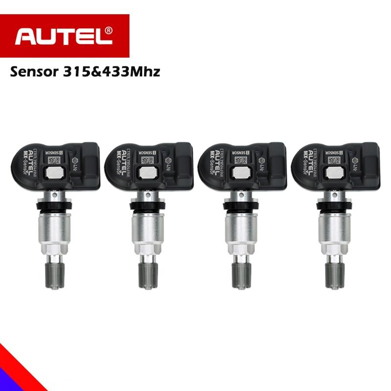 714982185c7 4pcs Autel Tire Pressure replacement OE MX Sensor Mx-Sensor 315mhz 433mhz  Tyre Pressure Sensor 315 433 programmable universal