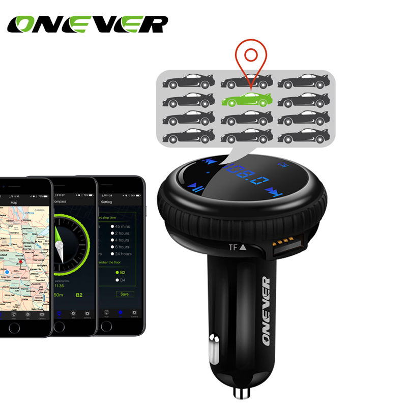 onever fm transmitter car mp3 player with car gps tracker fm modulator bluetooth hands free car. Black Bedroom Furniture Sets. Home Design Ideas